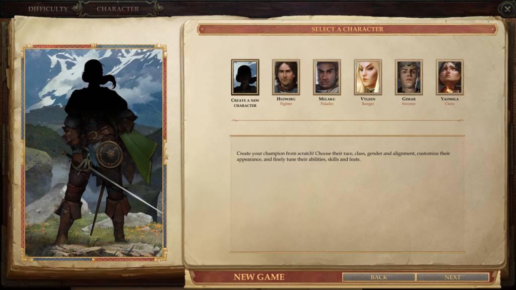 Pathfinder Kingmaker Screen1