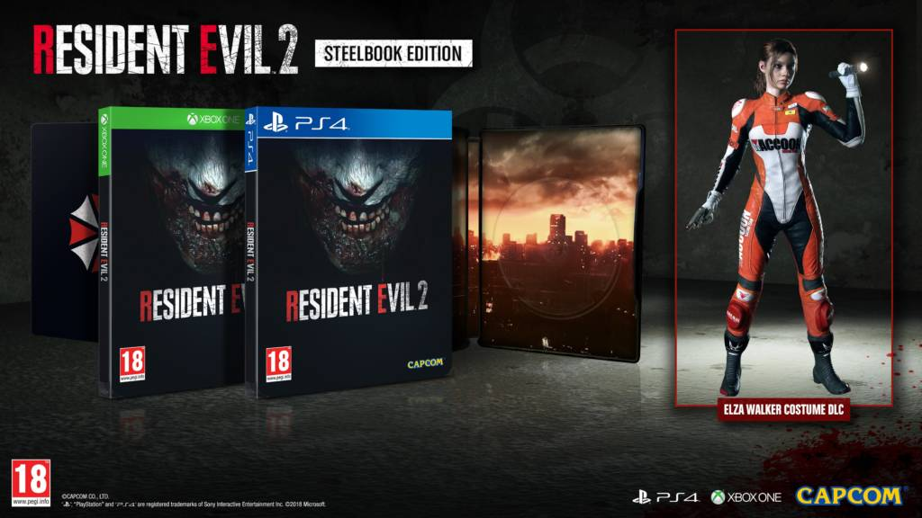 Resident Evil 2 Eu Steelbook 10 24 18