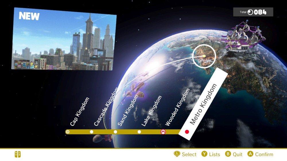 Super Mario Odyssey Screen4