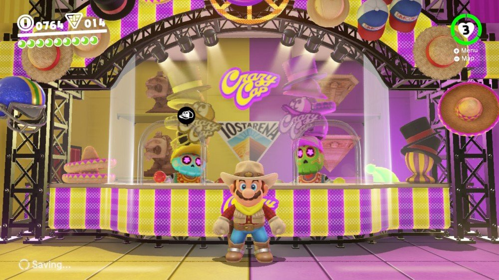 Super Mario Odyssey Screen8