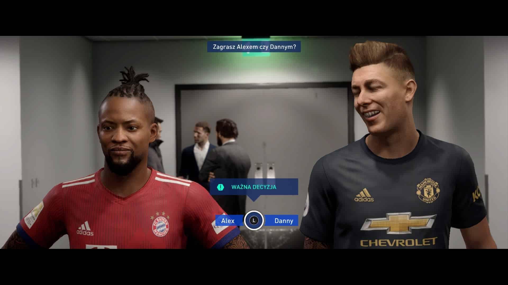 Fifa 19 Droga Do Sławy (w Menu)