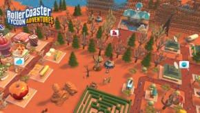 Rollercoaster Tycoon Adventures Screen 1