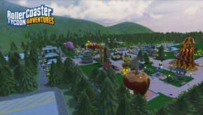 Rollercoaster Tycoon Adventures Screen 2