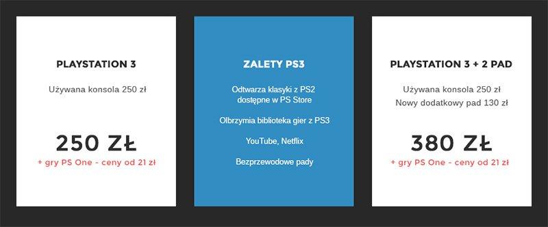 Ceny Ps3