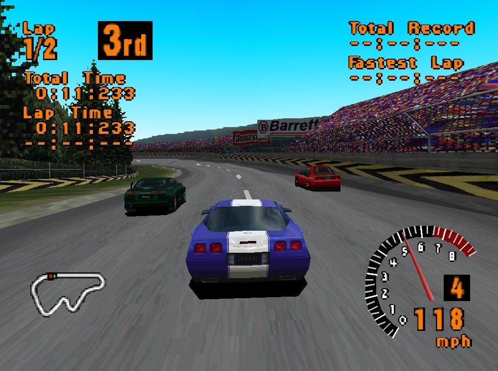 Na emulatorze ogracie Gran Turismo, którego próżno szukać na PlayStation Classic i w PlayStation Store