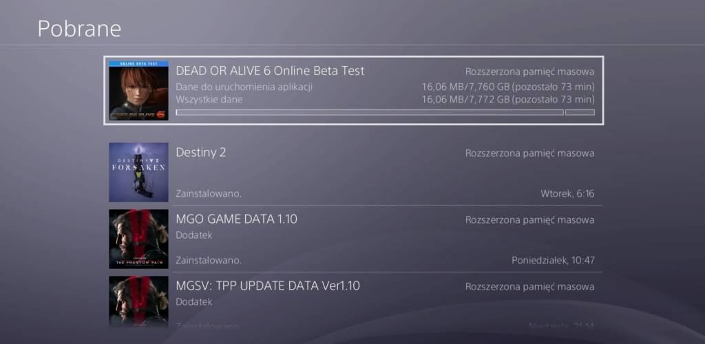 Dead Or Alive 6 Open Beta