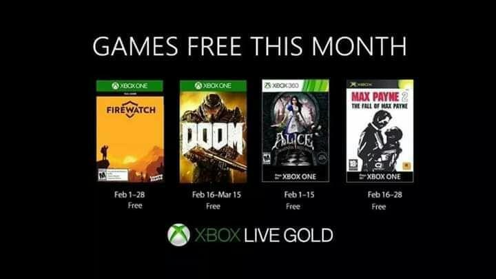 Games With Gold Luty 2019