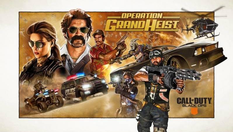 Call Of Duty Black Ops 4 Operacja Wielki Skok