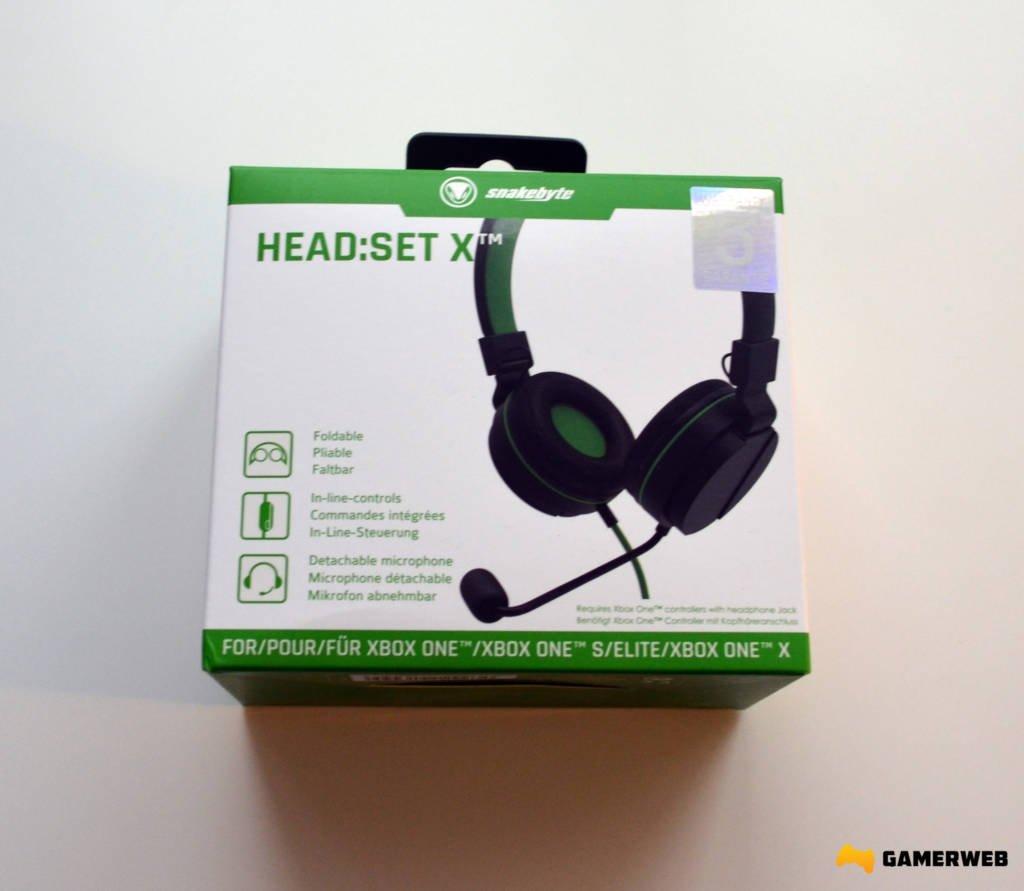 Snakebyte Headset X Pudełko