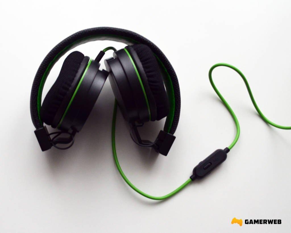 Snakebyte Headset X Słuchawki Można łatwo Złożyć