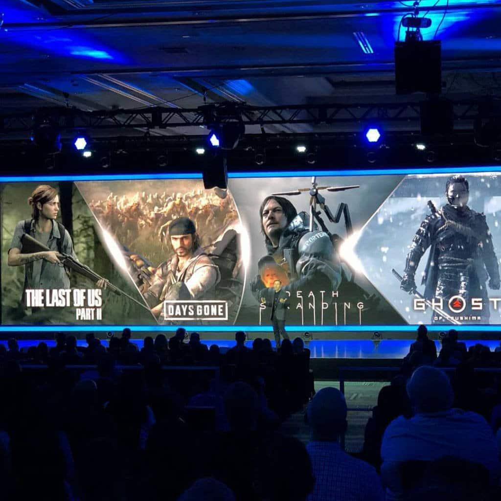 Destination Playstation 2019 Games