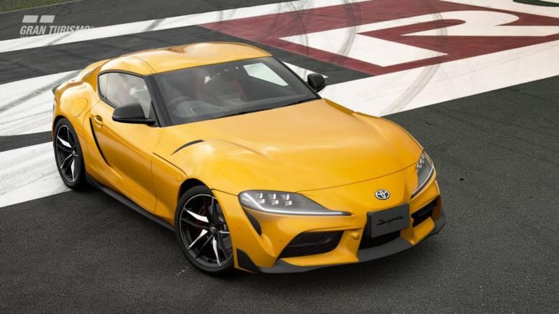 Gran Turismo Sport Toyota Supra