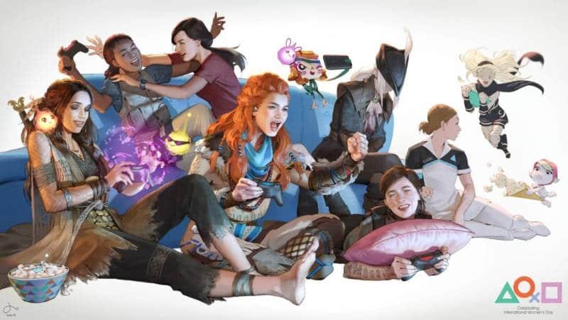 Playstation Store Motyw Dzień Kobiet