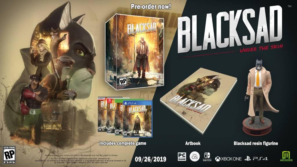 Blacksad Under The Skin Edycja Kolekcjonerska