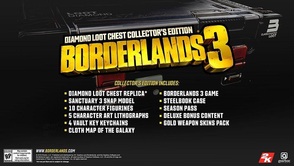 Borderlands 3 Edycja Kolekcjonerska