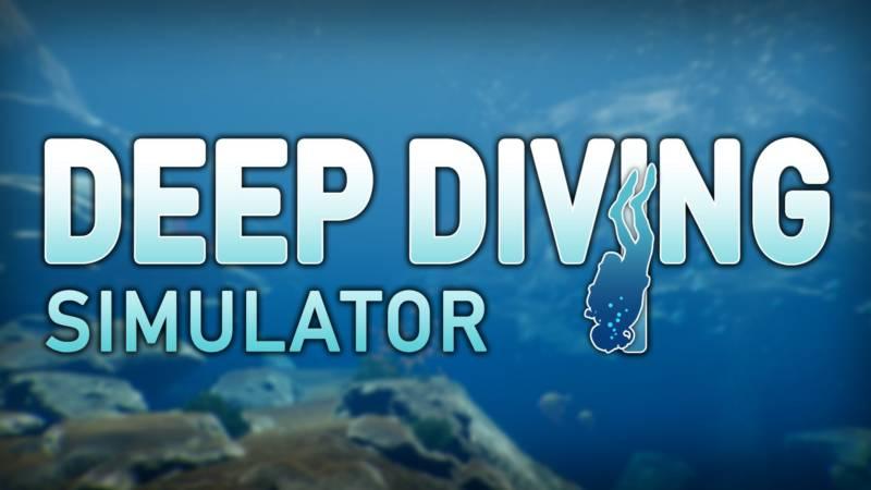 Deep Diving Simulator Logo