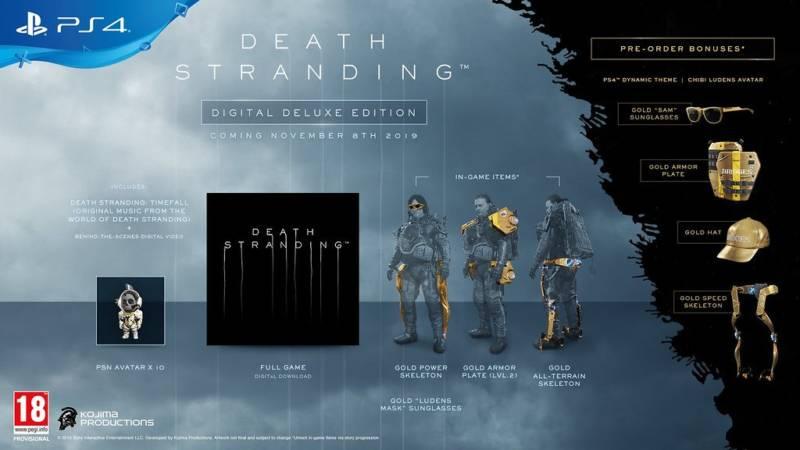 Death Stranding Edycja Deluxe