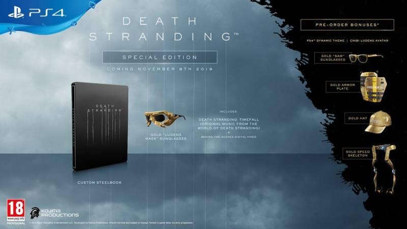 Death Stranding Edycja Specjalna