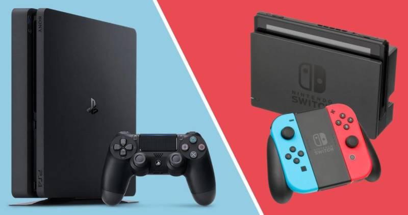 Playstation 4 Vs Nintendo Switch