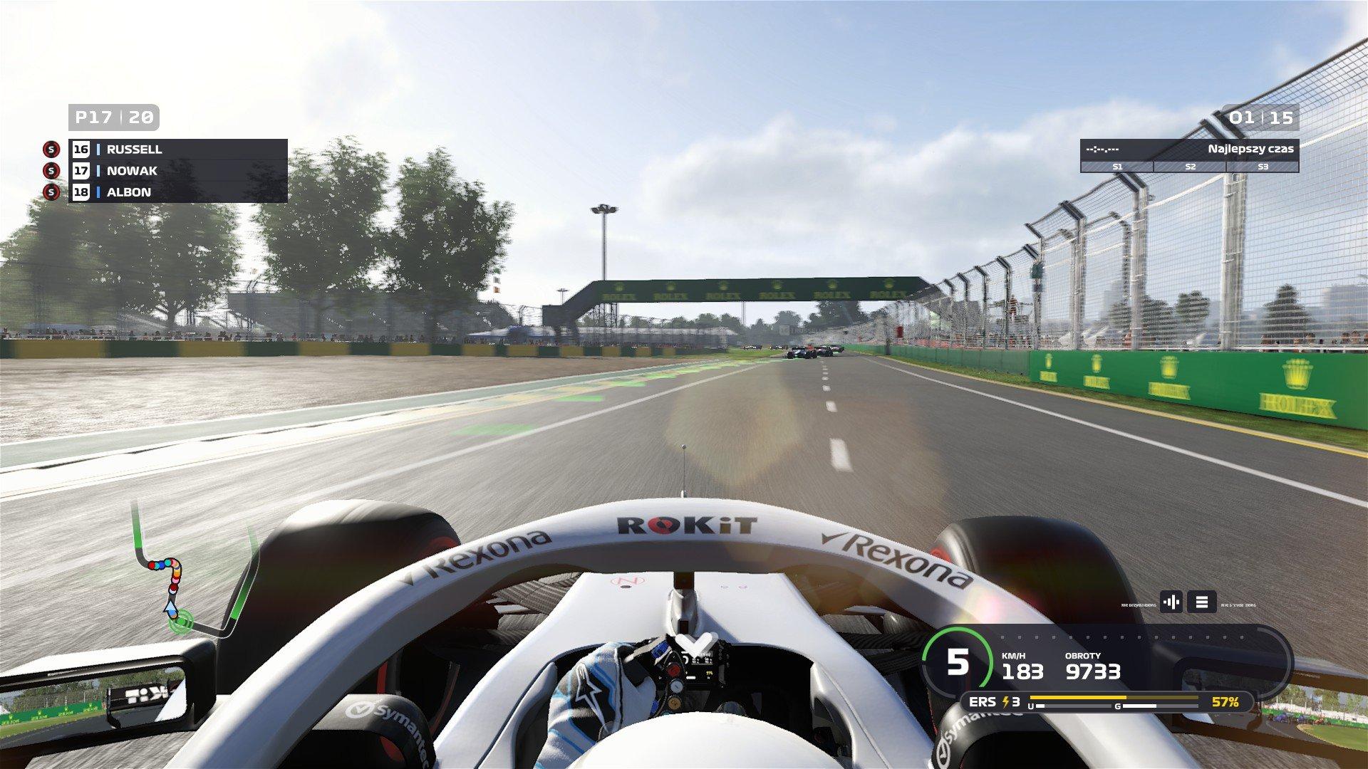 F1 2019 screen 3