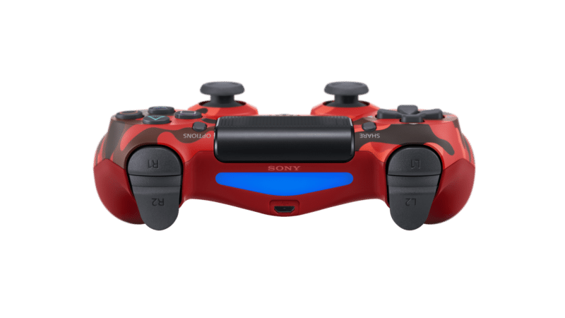 Dualshock4 2 Red Camouflage 2