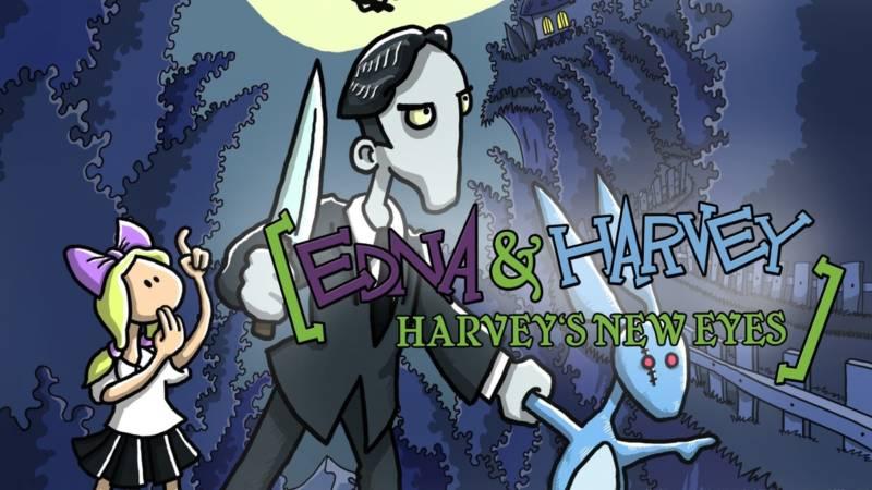 Edna & Harvey Harvey's New Eyes