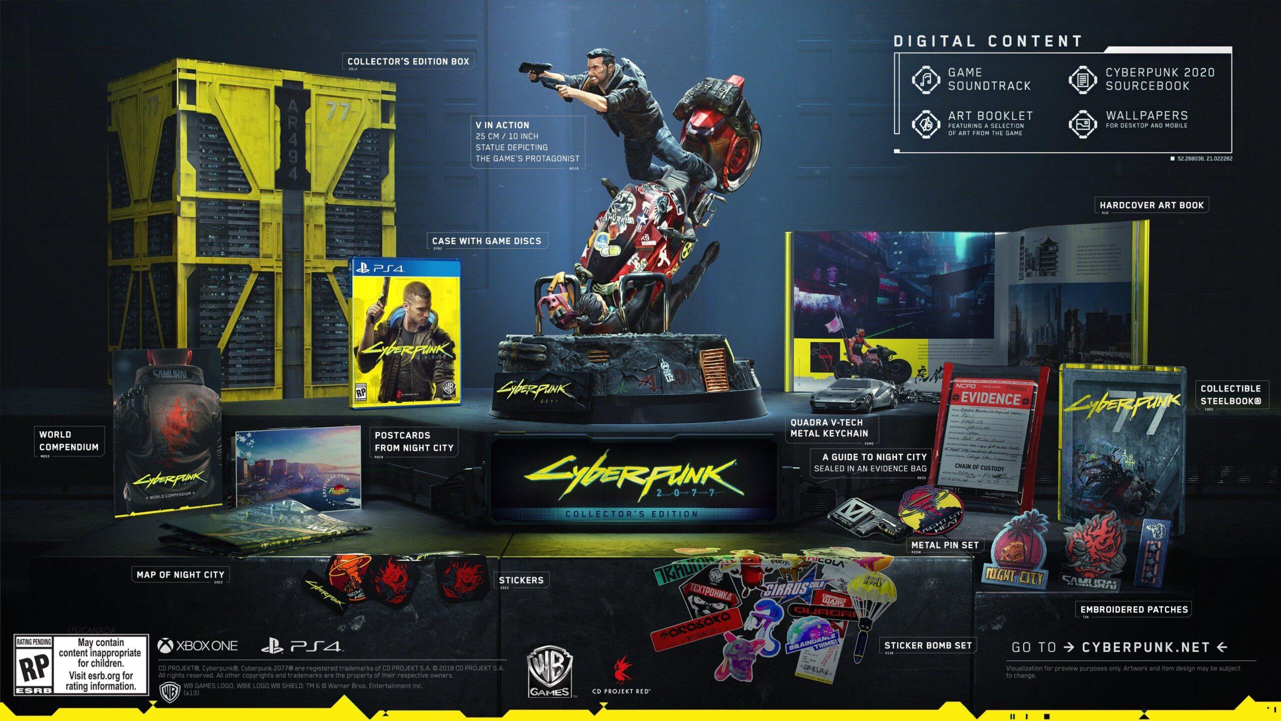 Cyberpunk 2077 Edycja Kolekcjonerska
