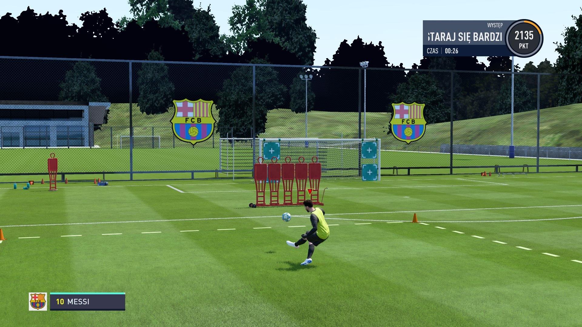 FIFA 20 Ćwiczy
