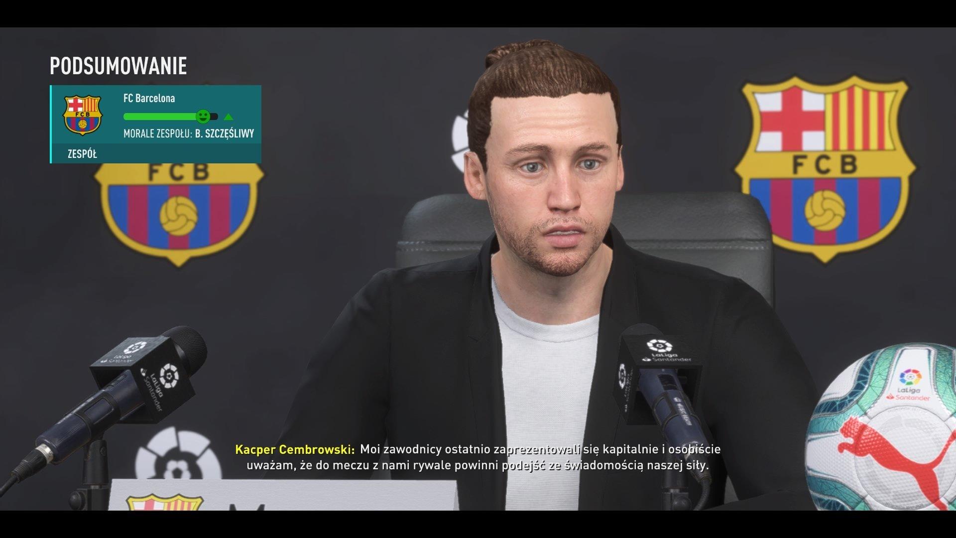 FIFA 20 Kariera w menu 4