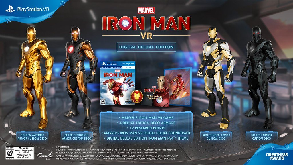 Marvel's Iron Man Vr Digital Deluxe Edition