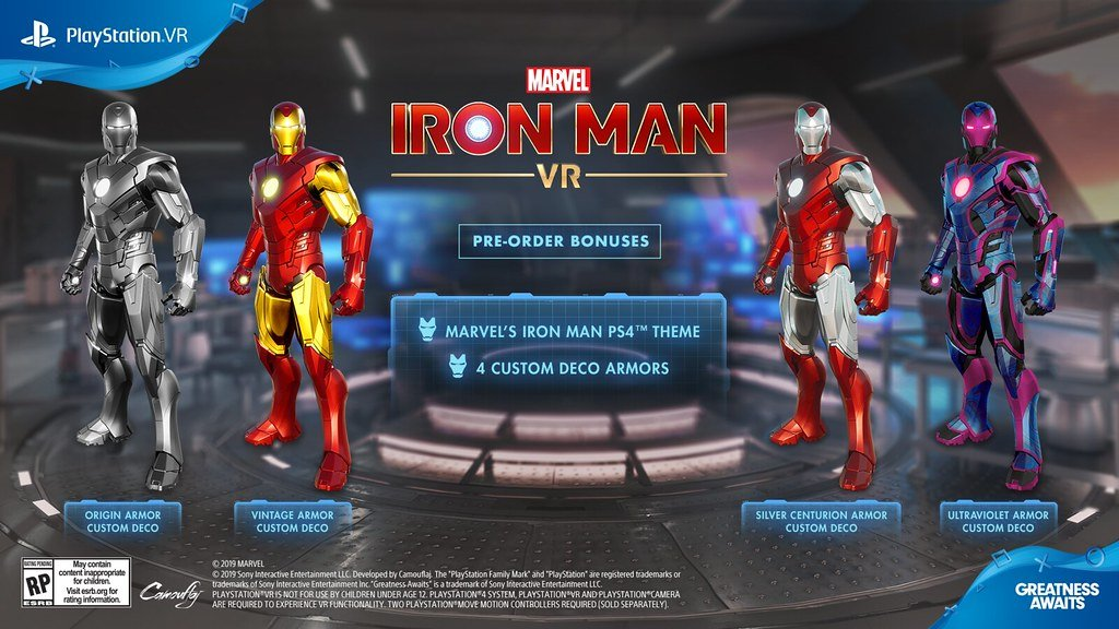 Marvel's Iron Man Vr Bonusy Przedpremierowe