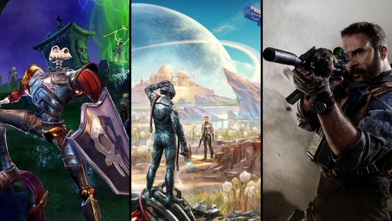 Medievil Remake, The Outer Worlds, Call Of Duty Modern Warfare
