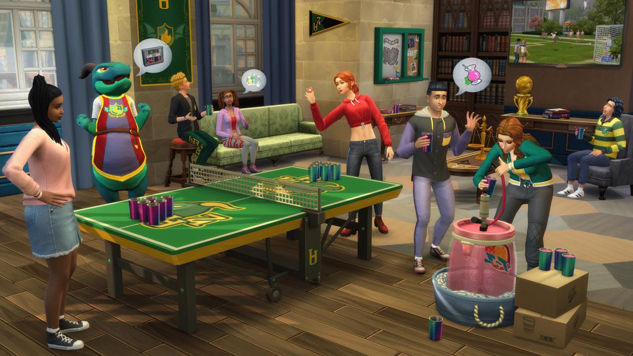 The Sim 4 Uniwersytet (2)