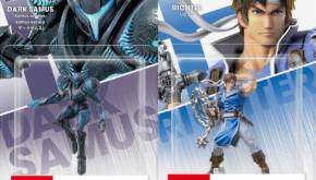 dark samus and richter amiibo revealed now available to pre order figure peek