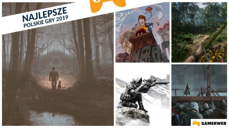 Najlepsze Polskie Gry 2019