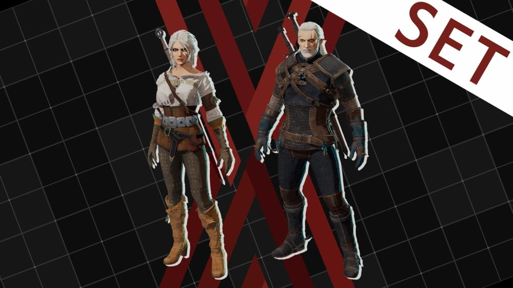 daemon x machina witcher 3