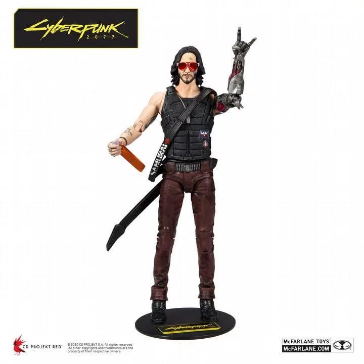 Figurka Cyberpunk 2077 Johnny Silverhand