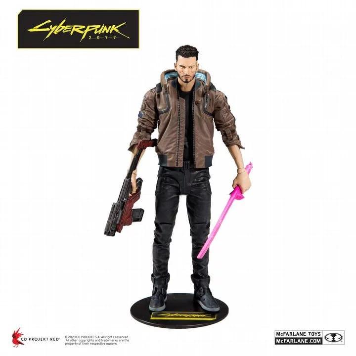 Figurka Cyberpunk 2077 V