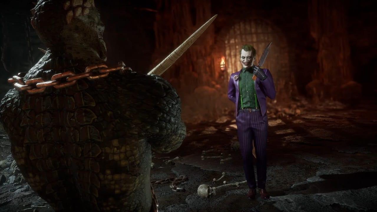 Mortal Kombat 11 Joker