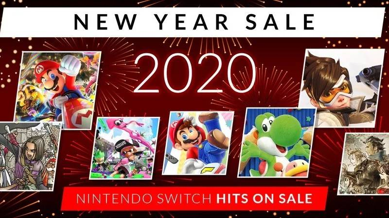 New Year Sale w Nintendo eShop