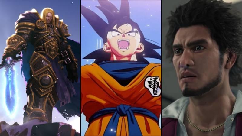 Warcraft Iii Reforged, Dragon Ball Z Kakarot, Yakuza Like A Dragon