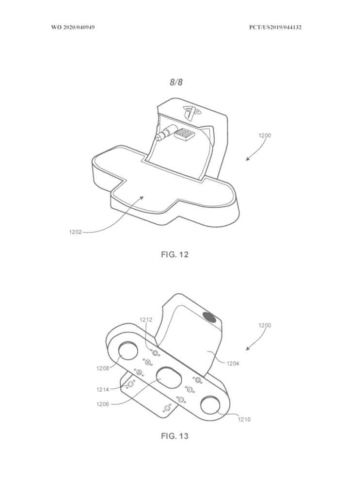 205ed9 Sony Wireless Charger Patent 1