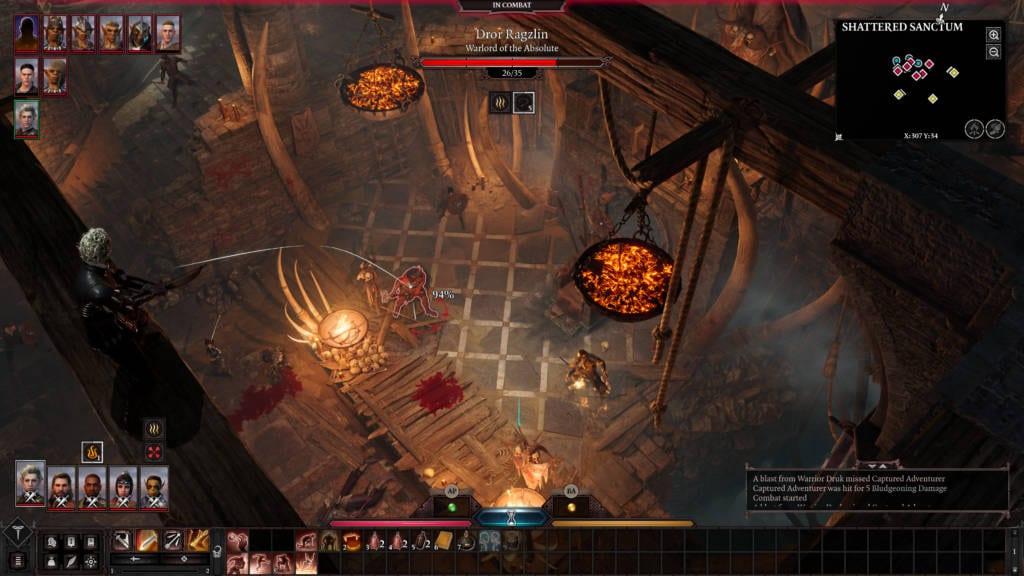 Baldurs Gate 3 Zrzut Ekranu 1