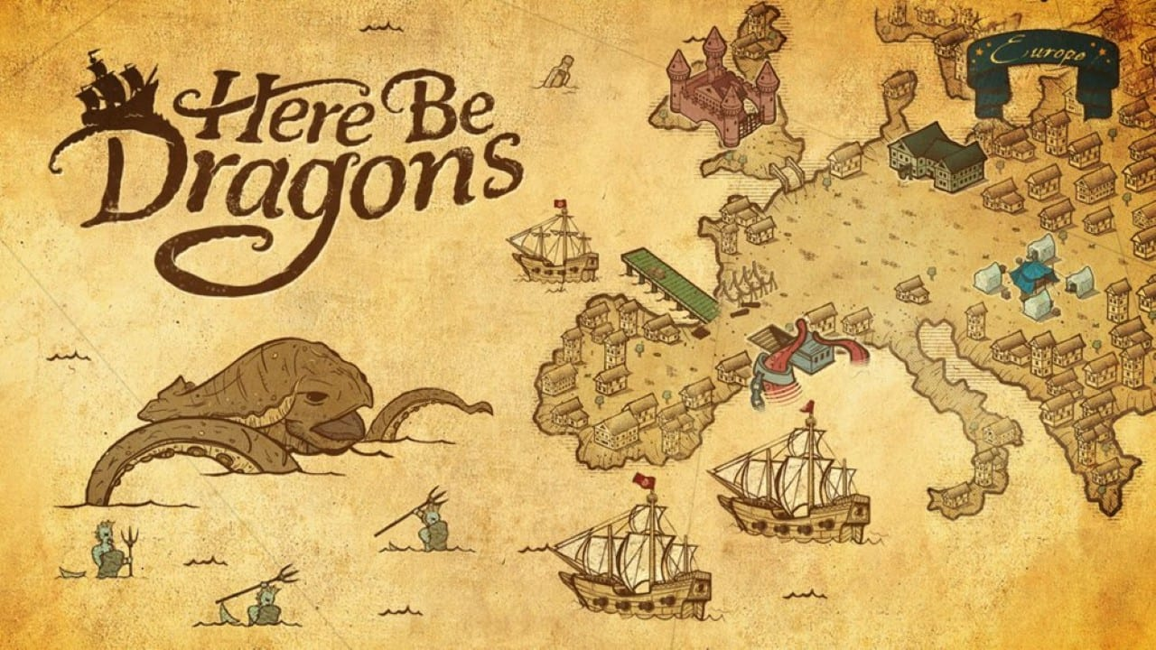 Here Be Dragons Art