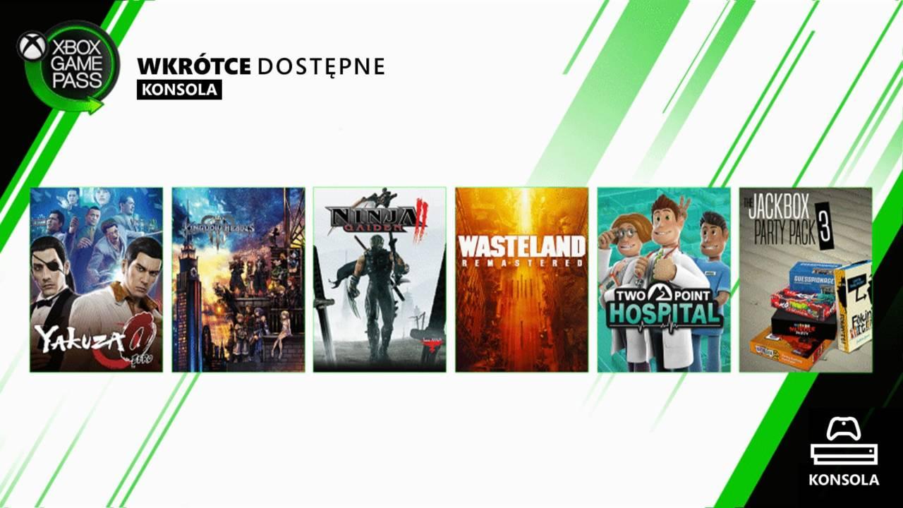 Xbox Game Pass Luty 2020