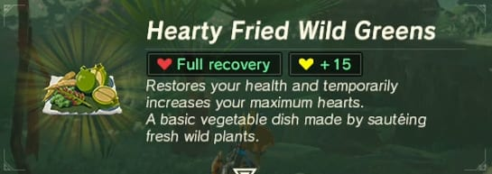 Hearty Fried Wild Greens