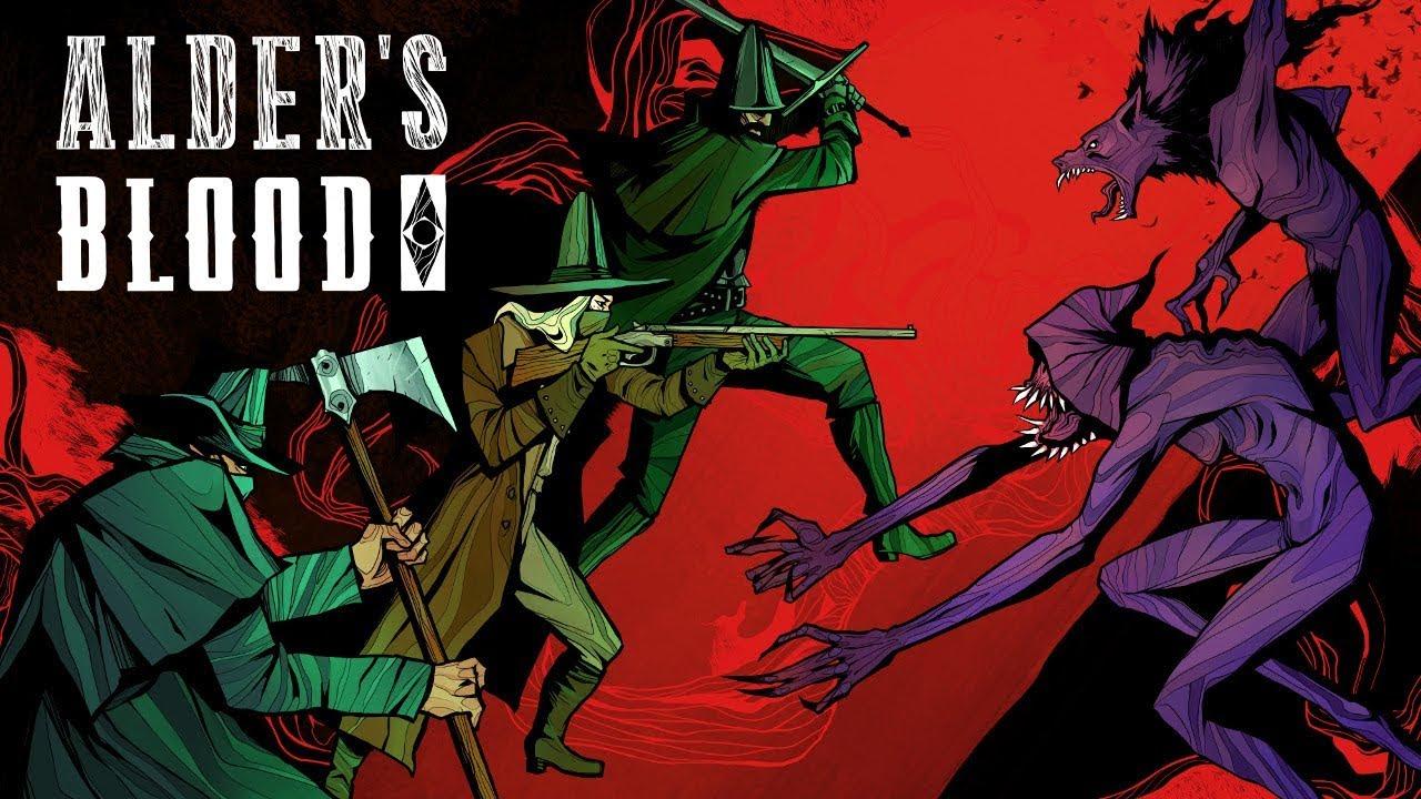Alder's Blood Art