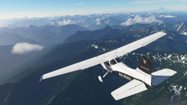 Microsoft Flight Simulator art
