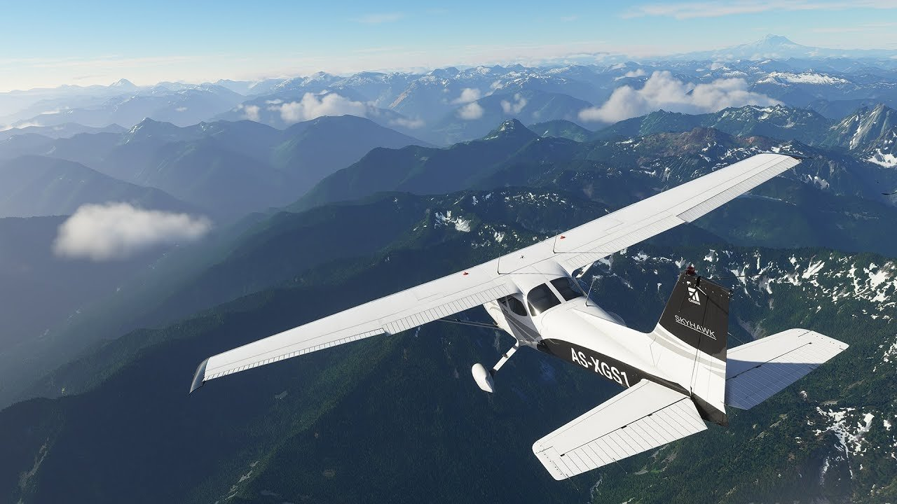 Microsoft Flight Simulator Art