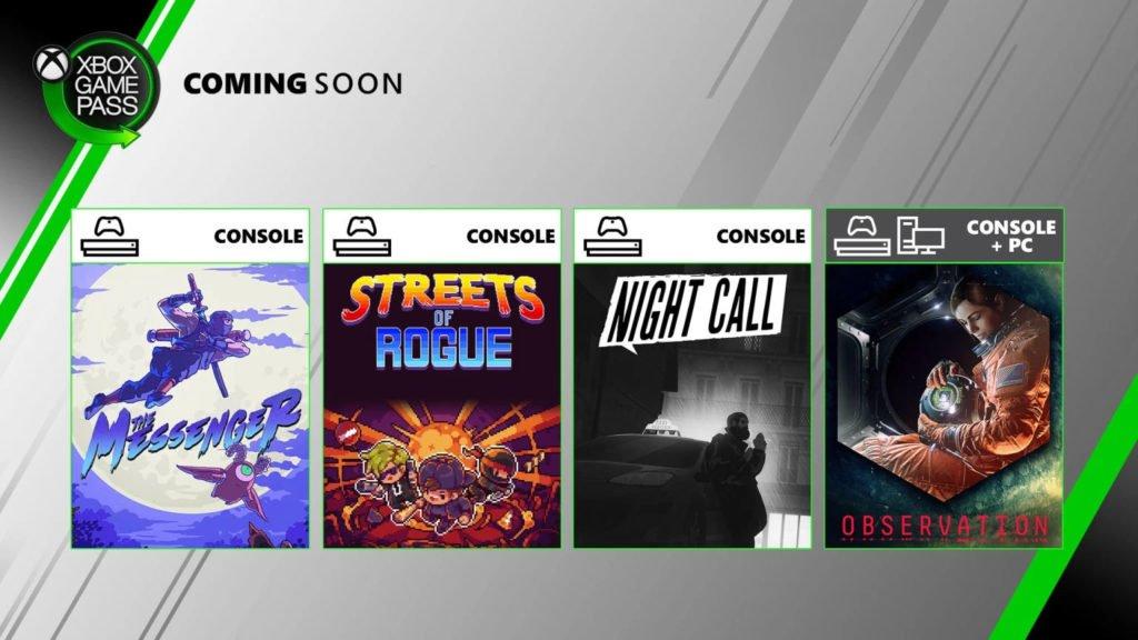 Xbox Game Pass Czerwiec 2020